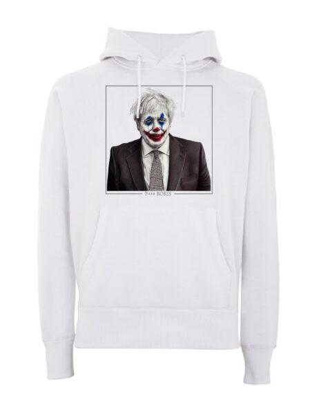 F*** Boris Limited Edition hoodie - White