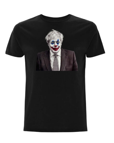 Joker Johnson Black T-Shirt