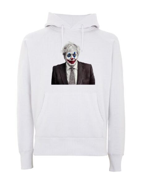 Joker Johnson White Hoodie