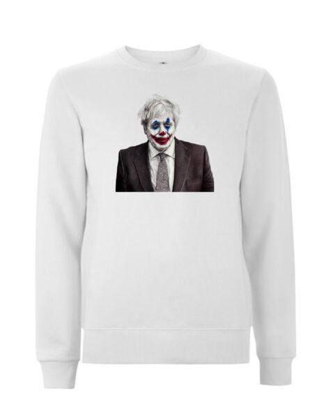 Joker Johnson White Sweatshirt