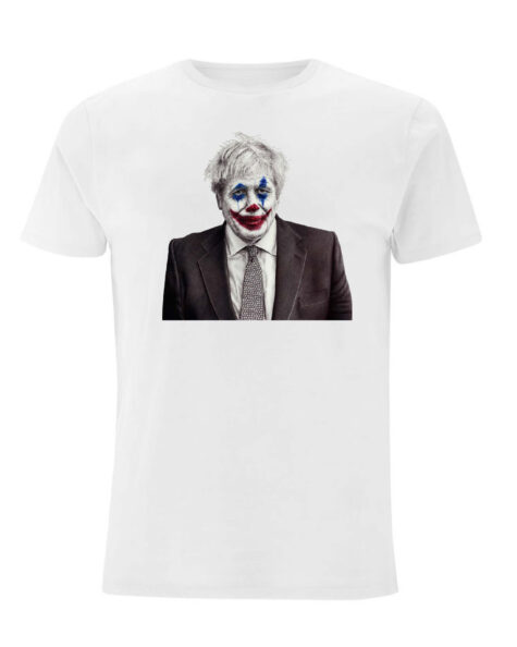 Joker Johnson White T-Shirt