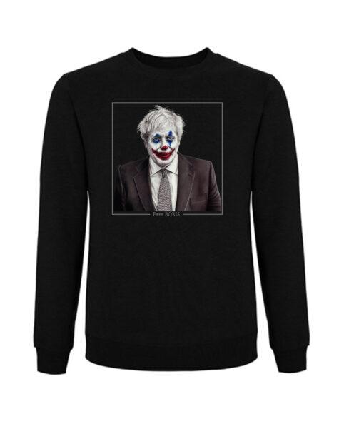 Limited edition F*** boris black sweatshirt