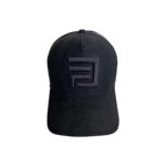 Dripp Factory trucker mesh cap - Black with black embroidery