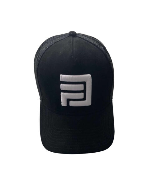 Dripp Factory trucker mesh cap - Black with white embroidery
