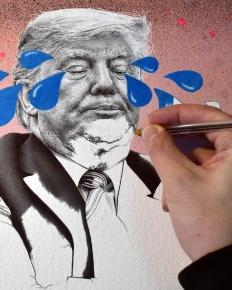 Dumping Trump pen