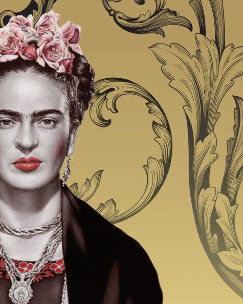 Frida Canvas detail