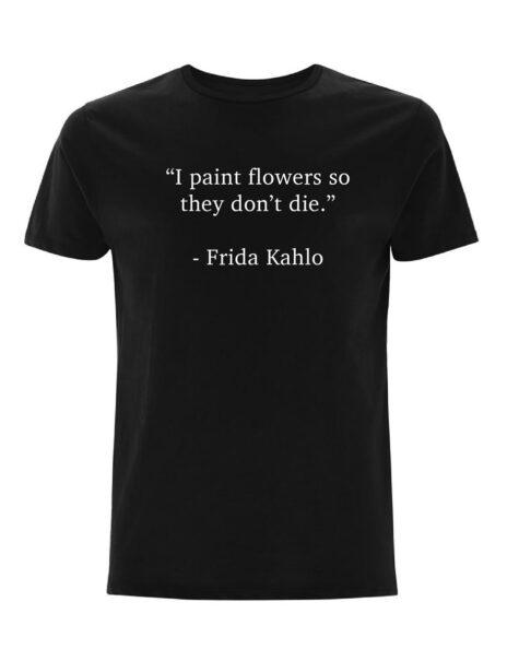 Frida Kahlo - black | artistically quoted