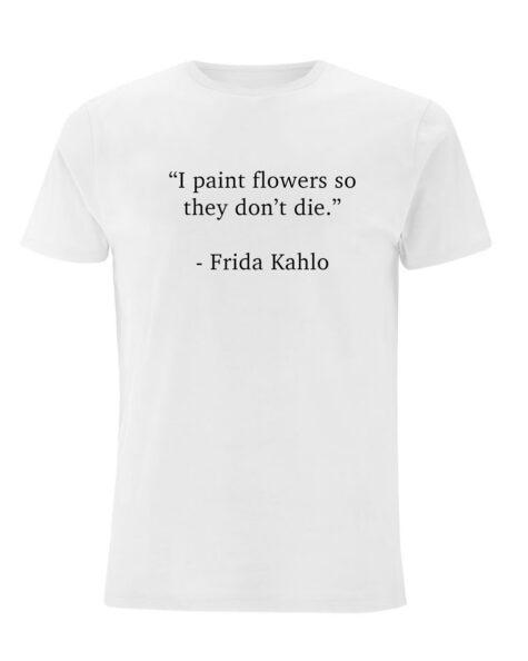 Frida Kahlo - white | artistically quoted